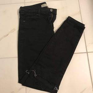 Topshop Skinny Jeans- Black, 26